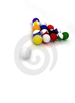 Pool Balls Royalty Free Stock Images - Image: 6531389