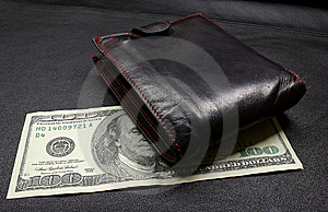 Cem Dólares Imagem de Stock - Imagem: 6531421