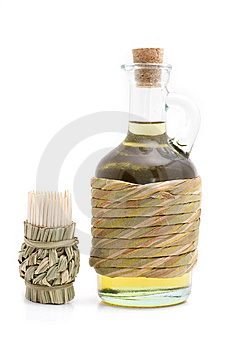 Toothpicks With Olive Oil Stock Images - Image: 6539024