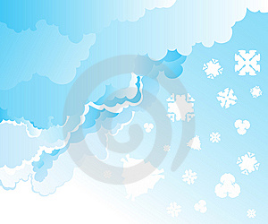 Snow Falling Stock Image - Image: 6540291