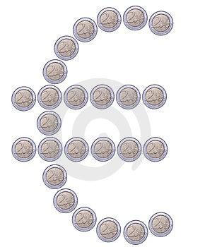 Euro Symbol Royalty Free Stock Image - Image: 6542276