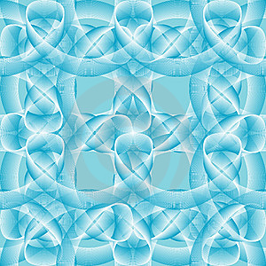 Seamless Abstract Blue Pattern Stock Photos - Image: 6543783