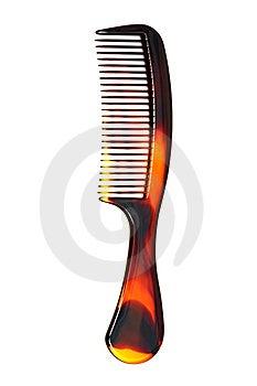 Plastic Hairbrush Royalty Free Stock Photography - Image: 6544507