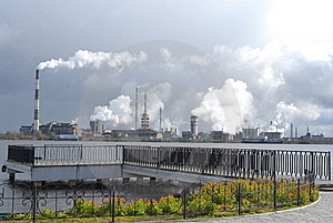 Oil Refinery Stock Photos - Image: 6546443