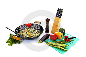 Preparing Wok Stock Photography - Image: 6546932