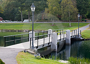Foot Bridge Royalty Free Stock Image - Image: 6547706