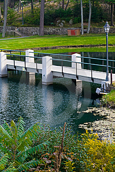 Foot Bridge Stock Photography - Image: 6547792