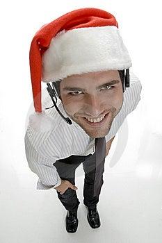 High Angle View Of Santa Man Stock Photos - Image: 6549543