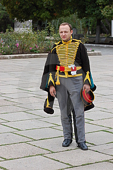 Russian Uniform Of Cavalry. Royalty Free Stock Photography - Image: 6549877