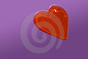 Red Candy Heart Stock Photography - Image: 6550672