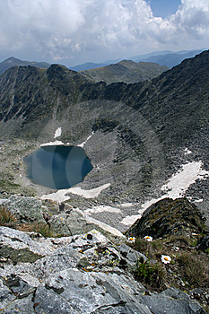 The Glacial Lake In The Rila Royalty Free Stock Image - Image: 6551026