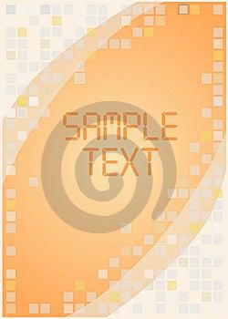 Orange Vector Background Stock Photos - Image: 6552513
