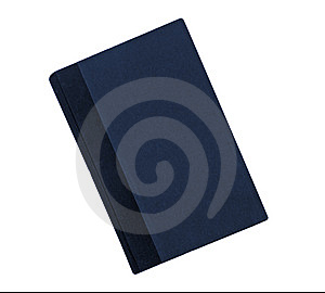 Blue Book With Black Binding Royalty Free Stock Images - Image: 6553629