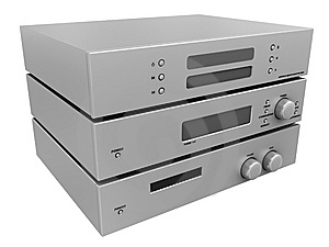 Amplifier Royalty Free Stock Photo - Image: 6553925