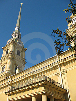 The Petropavlovsky Cathedral Royalty Free Stock Photography - Image: 6554187