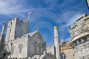 English Castle Royalty Free Stock Image - Image: 6556486