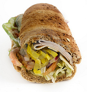 Turkey Sandwich Stock Image - Image: 6558591