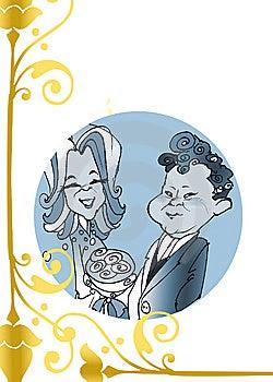 "Seasonal Series ""just Married"" Royalty Free Stock Image - Image: 6561346"