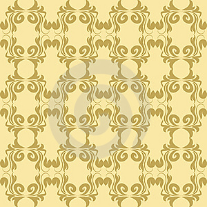 Antique Seamless Pattern Stock Photography - Image: 6561432