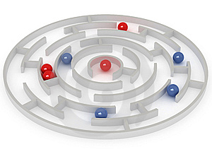 Labyrinth Royalty Free Stock Photos - Image: 6561728