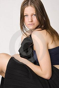 Young Beautiful Sad Woman Stock Photos - Image: 6562993