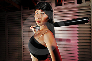 Gangster Girl - 2 Stock Photos - Image: 6563713