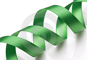 Green Ribbon Stock Images - Image: 6564014