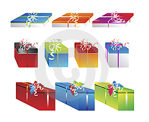Christmas Gifts 10 Stock Photos - Image: 6565413