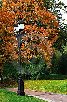 Autumn Park Stock Image - Image: 6565681