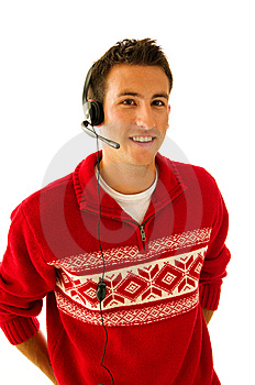 Young Man In Sweater Stock Photography - Image: 6568672