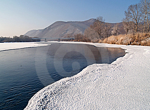 Riverheads Of Ussuri In The Winter Royalty Free Stock Photography - Image: 6569647