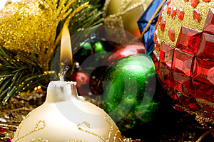 Beautiful Christmas Ornaments Stock Photography - Image: 6569962