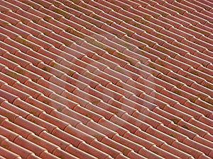 Red Clay Roof Stock Photo - Image: 6573870