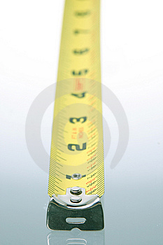 Vertical Tape Measure Royalty Free Stock Images - Image: 6575289