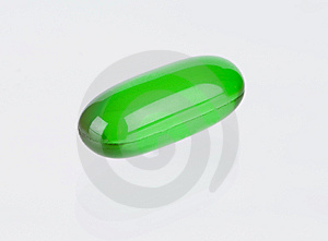 Groene Vitamine Royalty-vrije Stock Afbeeldingen - Afbeelding: 6575519