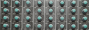 Mixer Eq Strips Royalty Free Stock Image - Image: 6575826