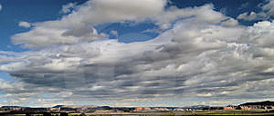 Clouds Over New Mexico Stock Image - Image: 6577001