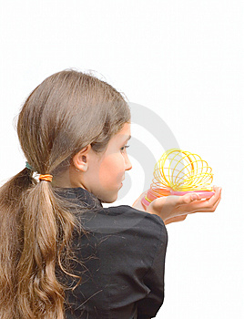 Student Teen Girl With Toy Stock Photography - Image: 6579472