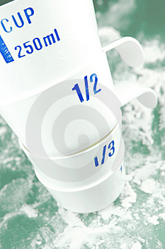 Measuring Cups Stock Photo - Image: 6582350