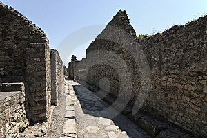 Pompei Stock Photo - Image: 6584320