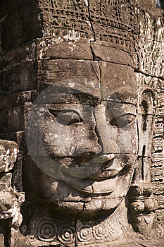 Bayon Temple In Siem Reap Stock Photo - Image: 6584850