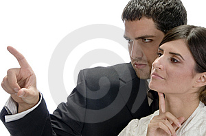 Portrait Of Business Couple Stock Photos - Image: 6588173