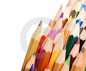 Color Pens Royalty Free Stock Image - Image: 6593476
