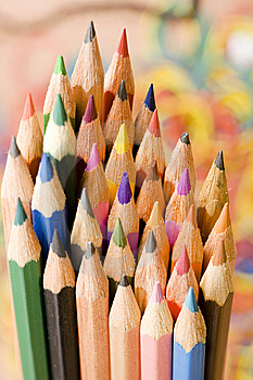 Color Pens Stock Photography - Image: 6593482