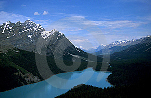 Peyto Lake Stock Photography - Image: 6594472