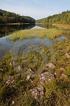 Lake In Snowdonia Late Afternoon Royalty Free Stock Photos - Image: 6599088