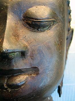 Stock Image - Buddha Face