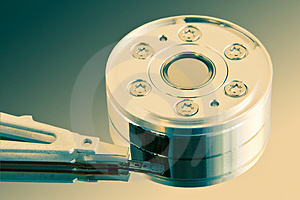 Heart Of The Hard Disk Stock Photography - Image: 663382