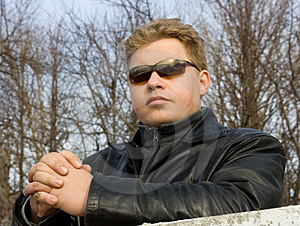 Man In Sunglasses Royalty Free Stock Photos - Image: 663538