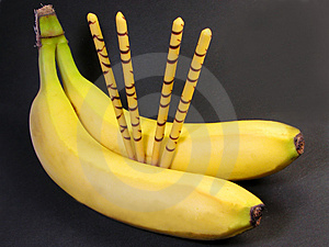 Banana Snacks Royalty Free Stock Photography - Image: 668067